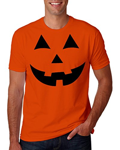 Hot Ass Tees Jack O' Lantern Pumpkin Holloween Costume T-Shirt Orange XX-Large -