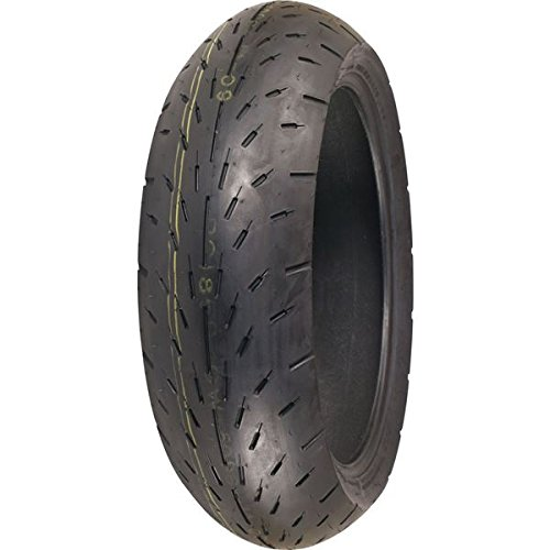 Racing Slick Belted Tire - Shinko 003 Stealth Rear Tire - 180/55ZR-18/--