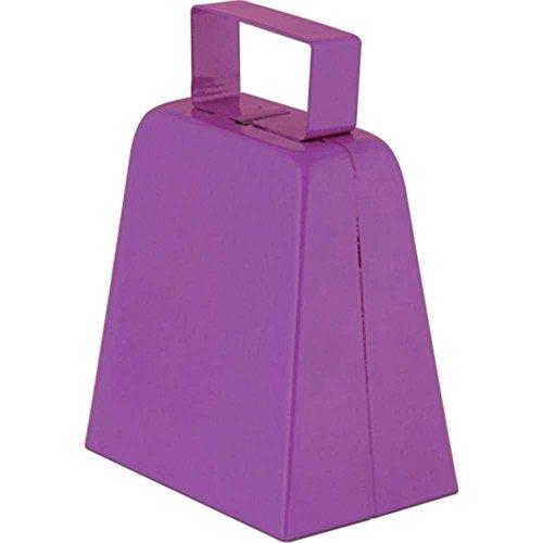 Cowbells (purple) Party Accessory (1 count)