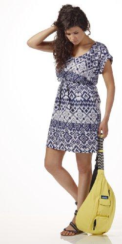 Blue Damen Lily Blau Kleid Aztec KAVU gvzpWaz