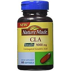 Nature Made Cla Tonalin 1000 Mg Softgel, 60 Count