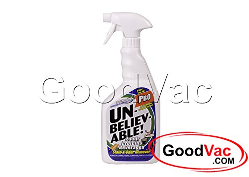 Unbelievable Stain and Odor Remover Professional Carpet Spot Remover and Deodorizer 32oz (Ketchup Stain Remover)