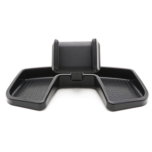 Yoursme Black Phone iPhone Holder Car Dash 360 Degree Rotate ABS Storage Box Portable Mount Stand Kit Fit for Jeep Renegade 2015 2016 2017 2018 by Yoursme