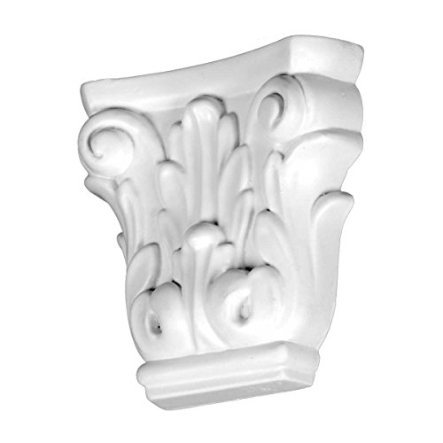 (Renovators Supply Manufacturing Decorative Polyurethane Corbel Pilaster Primed White Brackets)
