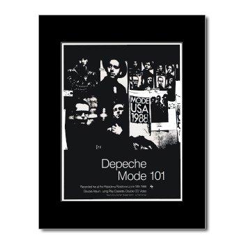 Depeche Mode - 101 Matted Mini Poster