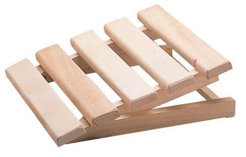 Sauna accessori tutto in legno costruite rilassante poggiatesta regolabile