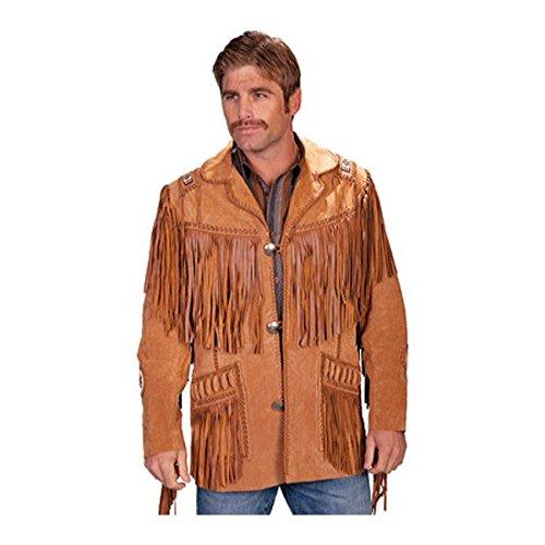 [スカーリー] メンズ ジャケット&ブルゾン Handlaced Bead Trim Coat 758 Long [並行輸入品] B07DHMMRV1 48