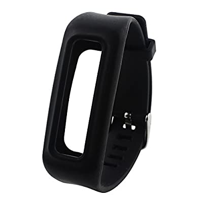 Feelily Durable&Soft Silicone Replacement Fitbit One Wristband with Chrome Watch Clasp and Fastener Buckle for Fitbit One Wireless Activity(No Tracker)