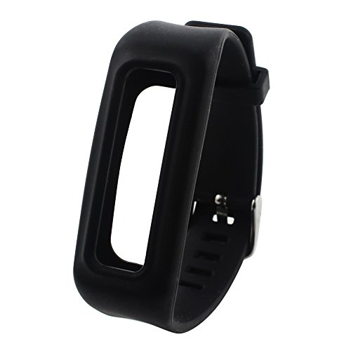 Feelily-DurableSoft-Silicone-Replacement-Fitbit-One-Wristband-with-Chrome-Watch-Clasp-and-Fastener-Buckle-for-Fitbit-One-Wireless-ActivityNo-Tracker