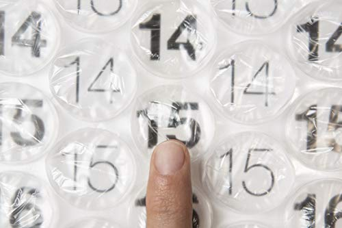 Bubble Wrap Calendar – A Poster Sized Wall Calendar with a Bubble to Pop Everyday