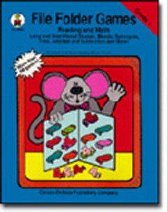 File Folder Games Book Reading & Math: Grade 1]()