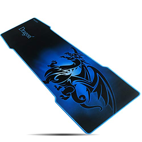 Alfombrilla de Ratón Grande Juegos-EXCO 1000×380×5mm mouse pad xxxl mouse pad gamer,Gran computadora Gaming Mouse Mat,