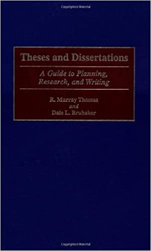 Dissertation research and writting