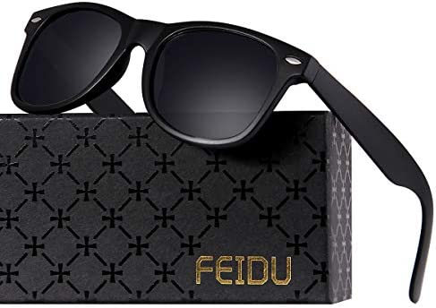 Polarized Sunglasses for Men Retro - FEIDU Polarized Retro Sunglasses for Men FD2149