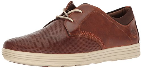 Dunham Men's Colchester Oxford Fashion Sneaker, Brown, 14 4E US by Dunham