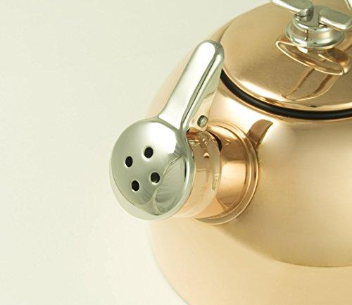 Chantal Copper Classic Teakettle-1.8 Quart by Chantal (Image #5)