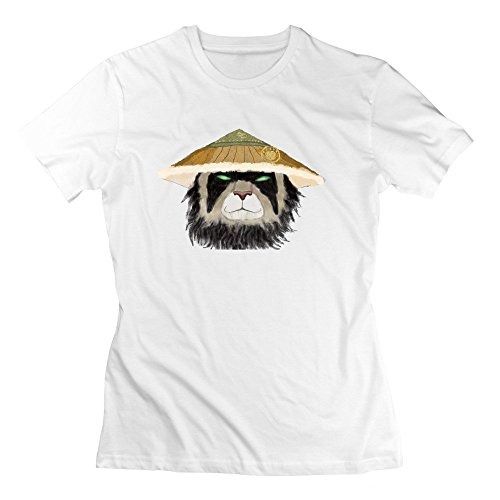 Women's Online Games WOW Pandaren Fashion Custom T-Shirt (Lady Zoro)