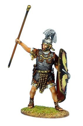 First Legion ROM144 Imperial Roman Optio - Legio II (Imperial Hand Painted Metal)