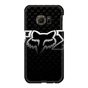 Anti-Scratch Cell-phone Hard Cover For Samsung Galaxy S6 (tpJ7308qdam) Custom Attractive Fox Racing Skin