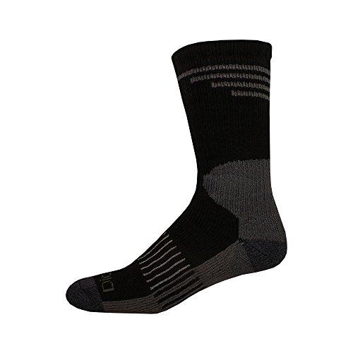 Dickies Steel Toe All Season Camo Crew, Socks, Grey, 1 Pair