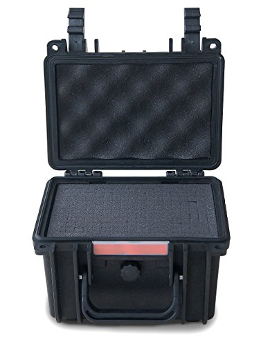 :Rakshak TS 755 Protective Hard Case for Guns, Go Pro Hero, Cameras, Audio, Video, Electronics etc.(Black)