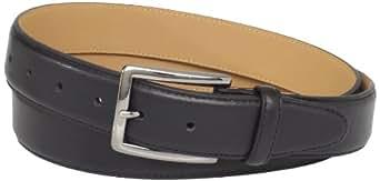 Dockers Men's Big-Tall 35MM Belt with Contrast Stitch, Black, 46