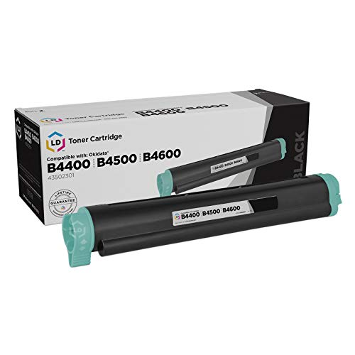 (LD © Compatible Replacement for Okidata 43502301 (Type 9) Black Laser Toner Cartridge for use in Okidata B4400, B4400n, B4500, B4500n, B4550, B4550n, B4600, B4600n, and B4600n PS Printers)