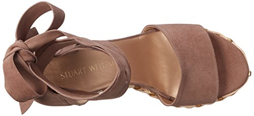 sale under $60 shipping discount authentic Stuart Weitzman Women's Wrapsie Wedge Sandal Haze cheap sale eastbay big sale cheap price clearance newest AwKDOFP