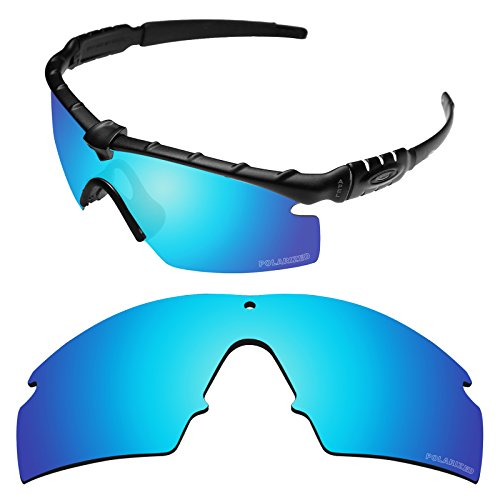 d49865f34c Galleon - Tintart Performance Replacement Lenses For Oakley Si Ballistic M  Frame 3.0 Sunglass Polarized Etched-Sky Blue