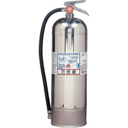 Water Extinguisher w/ Wall Hook (2.5 Gal Pro 2.5 W) Ships EMPTY