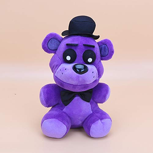 PampasSK Movies & TV - 25cm Five Nights at Freddy's 4 FNAF Freddy Fazbear Bear Plush Toys Doll Five Nights at Freddy Figure Toys 1 -