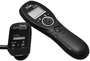 Pixel TW-282/N3 - Disparador Remoto inalámbrico con Temporizador y ...