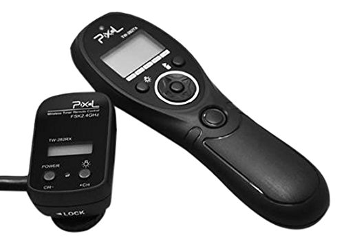 Pixel TW-282/DC2 Wireless Timer Remote Control for select Nikon camera models by PIXEL