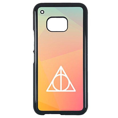 Price comparison product image Harry Potter,  Deathly Hallows Sign HTC one m9 case Customized premium plastic black phone case,  design 28