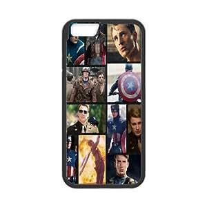 "Hjqi - DIY Chris Evans Cell Phone Case, Chris Evans Custom Case for iPhone6 4.7"""