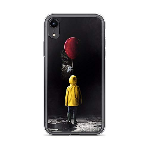 iPhone XR Pure Clear Case Cases Cover Scary Clown Face Kidnapping