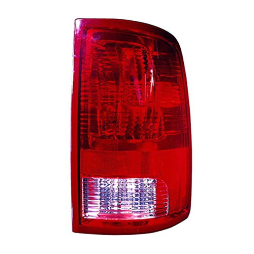 Headlights Depot Replacement for DODGE Ram Ram 1500 2500 3500 Right Passenger Side Tail Light (Light Tail Retainer)