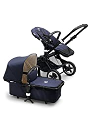 Combining timeless elegance with a taste for the outdoors, Bugaboo introduces the all-new Bugaboo Buffalo Classic+ Collection. This latest incarnation of our city to countryside, all-terrain stroller comes with a navy blue canvas sun canopy, ...