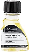 Winsor & Newton Refined Linseed Oil 75ml