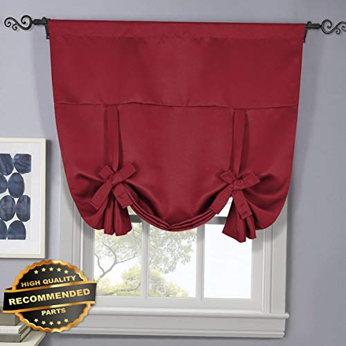 Gatton Ava Tie Up Rod Pocket Blackout Triple Weave Blackout Window Curtain Panel | Style WNDWSCURT-01120191 |