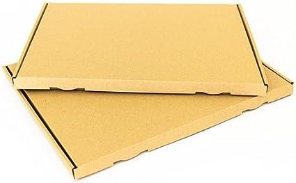50 x Caja de cartón grande Carta DIN A4 para la Post 332 x 245 x ...