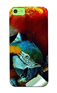 Ellent Iphone 5c Case Tpu Cover Back Skin Protector Parrots For Lovers