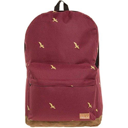 Spiral OG Backpack One Size Bird Dark - Wine Og