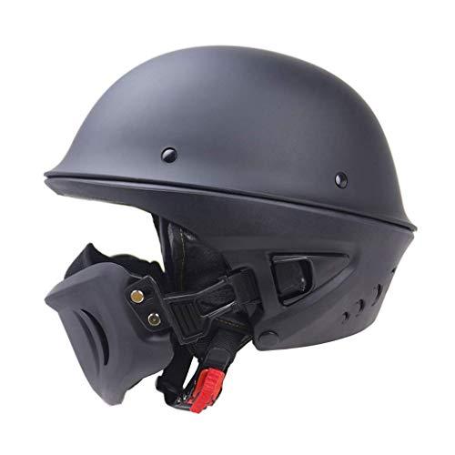 BeON-Helmet-Motorcycle-Ghost-Recon-Adult-Rogue-Cruiser-DOT-Certification-Unisex-Adult-Half-Street