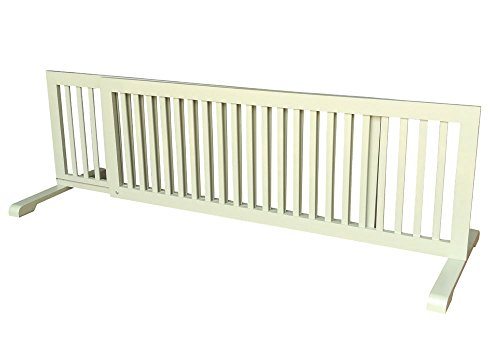 "MDOG2 Free Standing Extra Wide Pet Gate - 53""-103""L x 20""..."