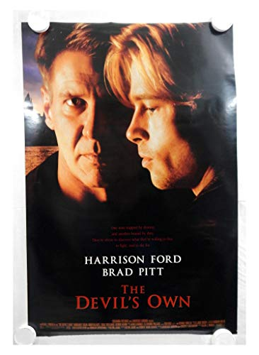 Vintage 1997 The Devil's Own Two Side Original Movie Theater Poster