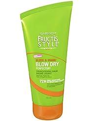 Garnier Fructis Sleek and Shine Blow Dry Perfector Straightening Balm, 5.1 Fluid Ounces