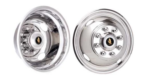 16'' Stainless Steel Wheel Simulators for 1999-2002 Ford F350 by Eagle Flight