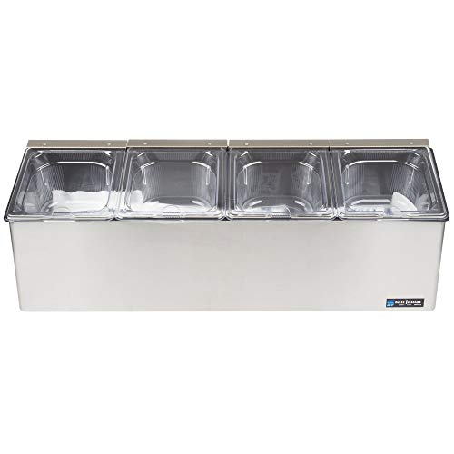 - TableTop King FP8245NL EZ-Chill Condiment Center with 4 Pans