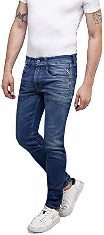 Replay Męskie dżinsy Anbass: Odzież